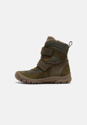 LINZ TEX UNISEX - Winter boots - dark green
