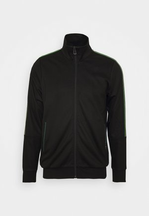 ZIP TRACK  - veste en sweat zippée - black