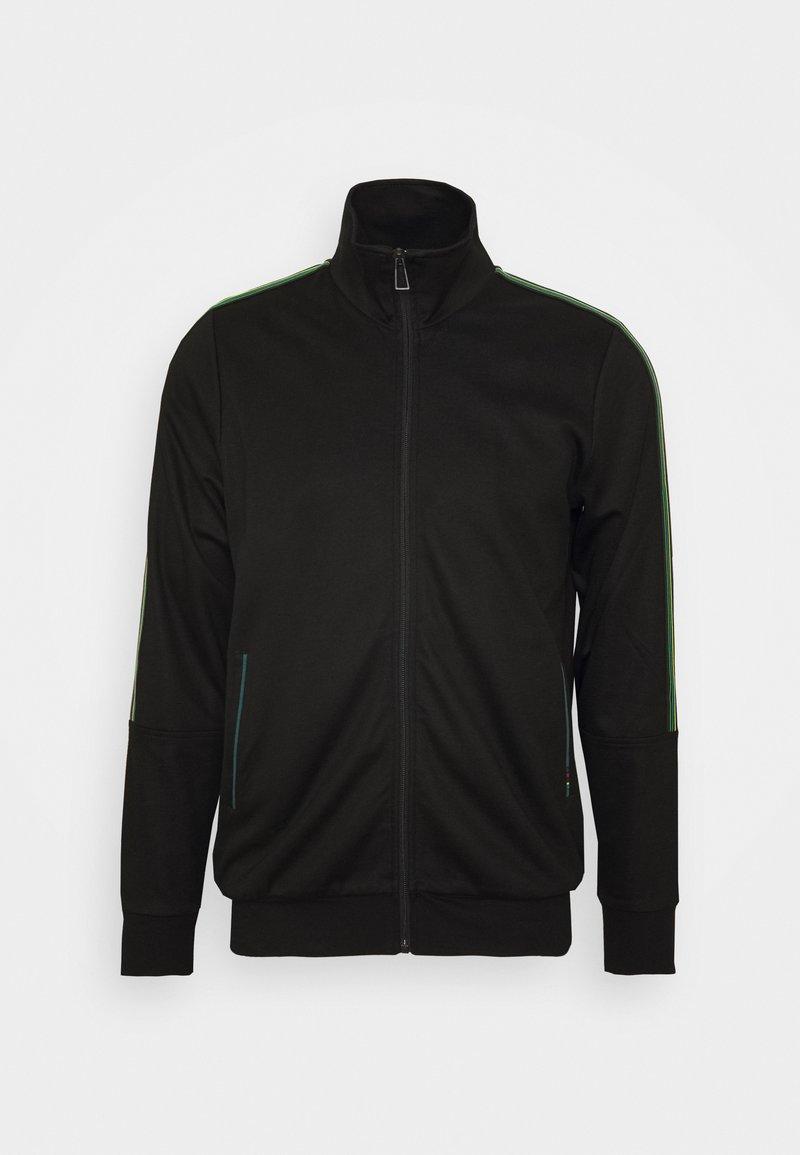 PS Paul Smith - ZIP TRACK  - Zip-up hoodie - black