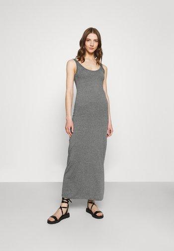 Vestito lungo - medium grey melange
