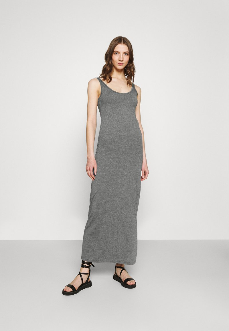 Vero Moda - Maxi dress - medium grey melange