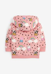 Next - PEPPA PIG  - Zip-up sweatshirt - pink - 1