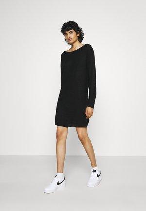 AYVAN JUMPER DRESS - Jumper dress - black