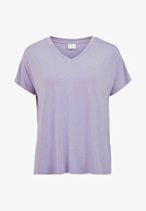 VIBELIS  - T-shirt basique - violet tulip