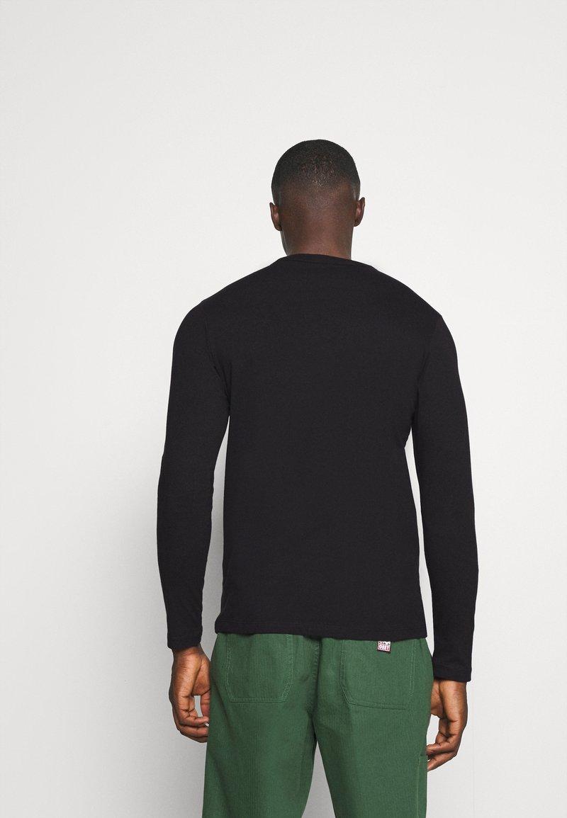 Jack & Jones JJELONG - Langarmshirt - black/schwarz d2Xokq