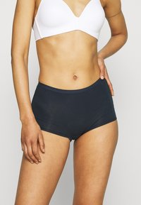 Lindex - CARIN BOXER HIGH 3 PACK - Culotte - navy - 3