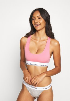 MODERN UNLINED BRALETTE - Alustoppi - rosey dream