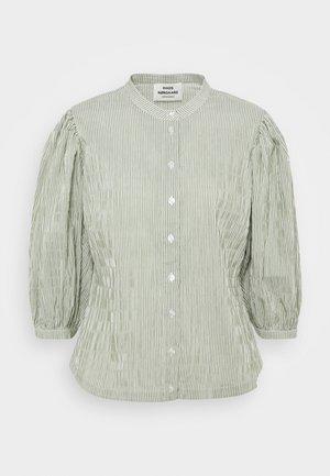 CRINCKLE POP SIGGA - Camisa - army/off-white