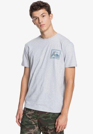 HIGHWAY VAGABOND - Print T-shirt - athletic heather