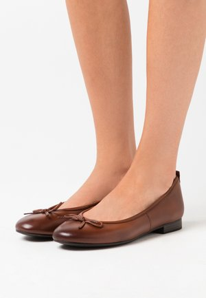 Ballet pumps - brandy