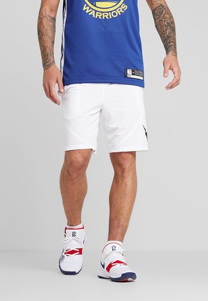 SHORT - Sports shorts - white/black
