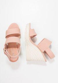 Calvin Klein Jeans - LACEY - Sandały na obcasie - dusk - 3