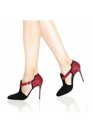 Klasické lodičky - red/black