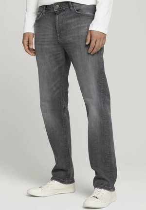 Relaxed fit jeans - used light stone grey denim