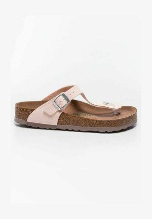 KLAPKI GIZEH BFBC EARTHY VEGAN - T-bar sandals - pink