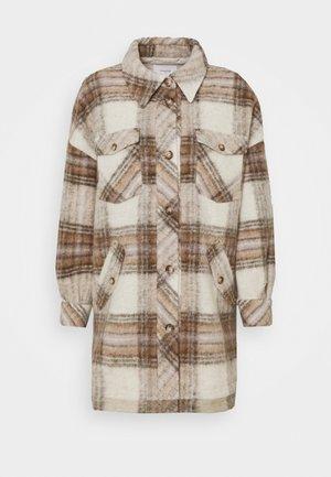 FREJA - Short coat - creme brulee