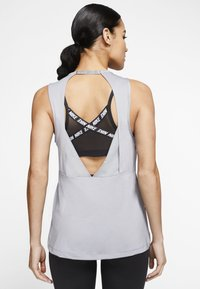 Nike Performance - Top - particle grey/black - 2