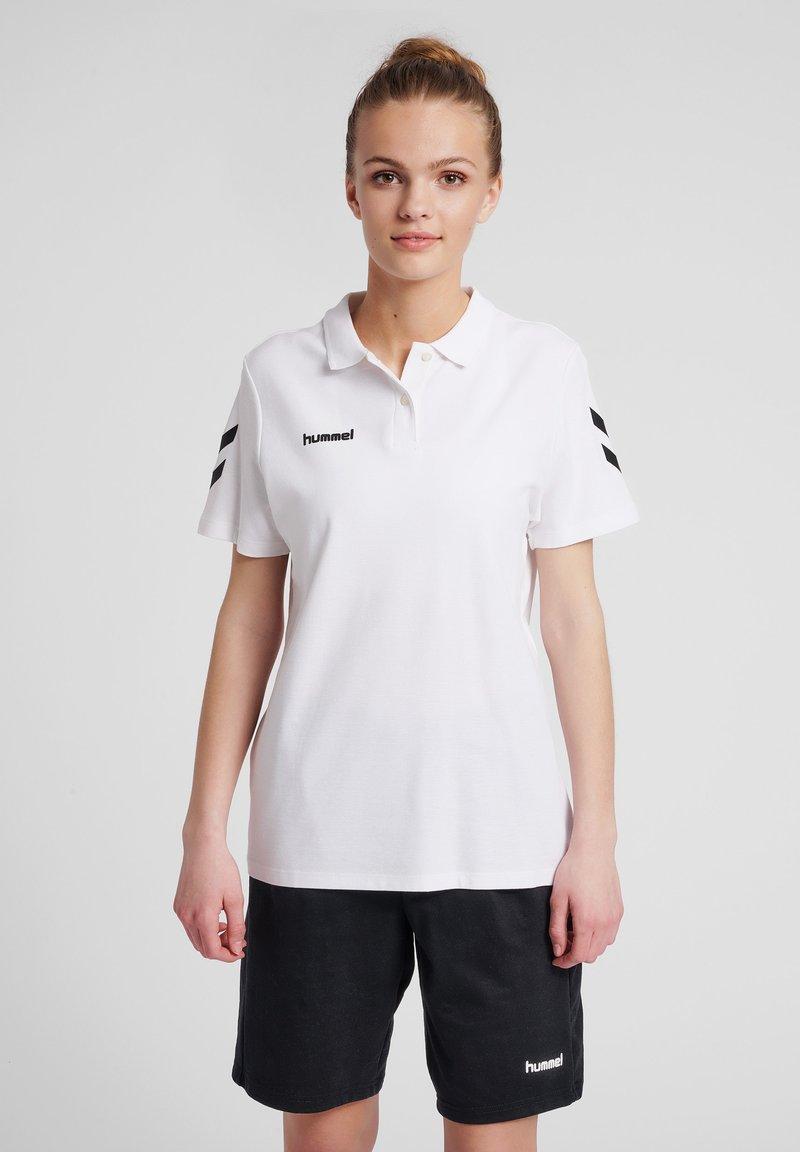 Hummel - Polo shirt - white