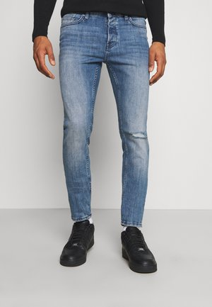 ONSLOOM SLIM BLUE WASH - Slim fit -farkut - blue ´