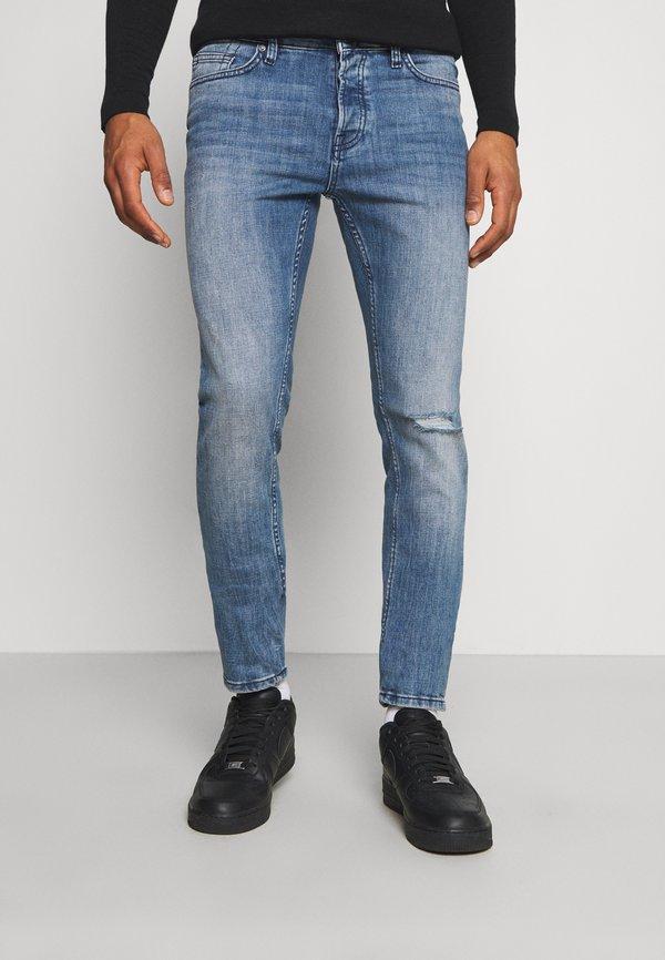 Only & Sons ONSLOOM SLIM BLUE WASH - Jeansy Slim Fit - blue ´/niebieski denim Odzież Męska NZBW