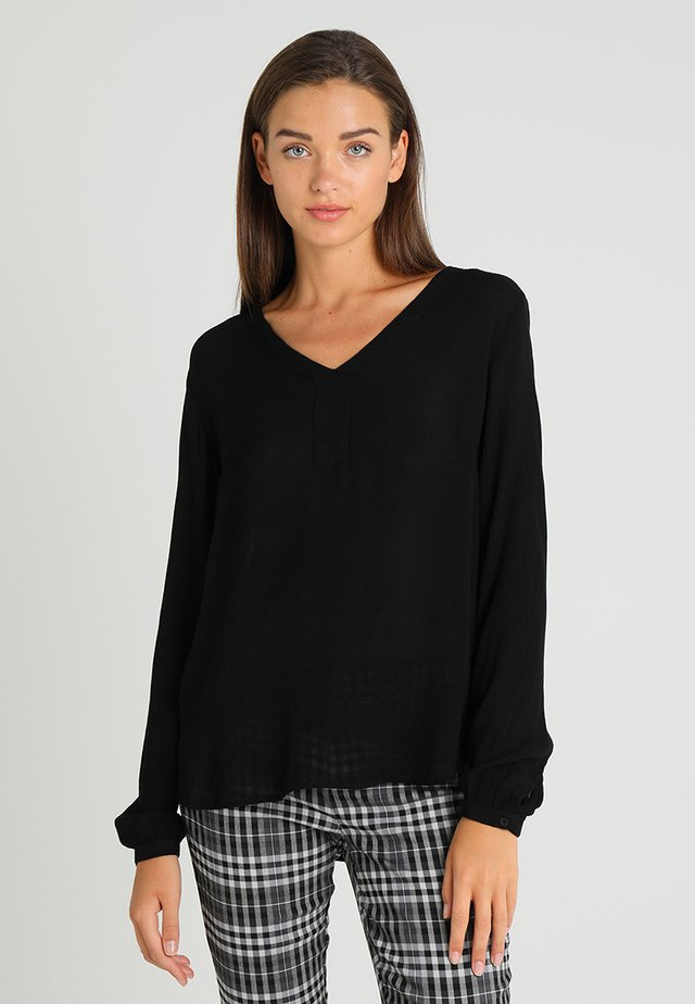 AMBER BLOUSE - Tunic - black
