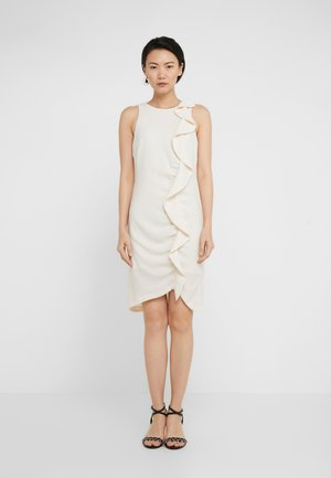 BEBYBLADE ABITO FLUIDO - Shift dress - white
