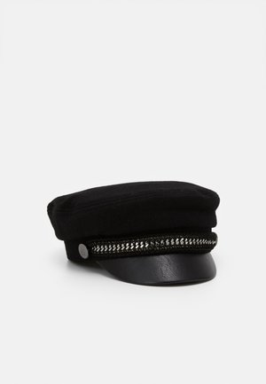 KARL CAPTAIN HAT - Cappellino - black