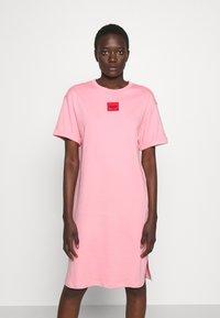 HUGO - NEYLE - Jersey dress - bright pink - 0