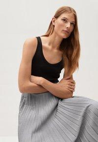 Mango - LADY - A-line skirt - grau - 5