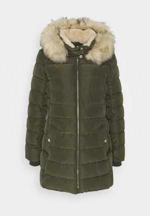 ONLCAMILLA QUILTED  - Winter coat - forest night
