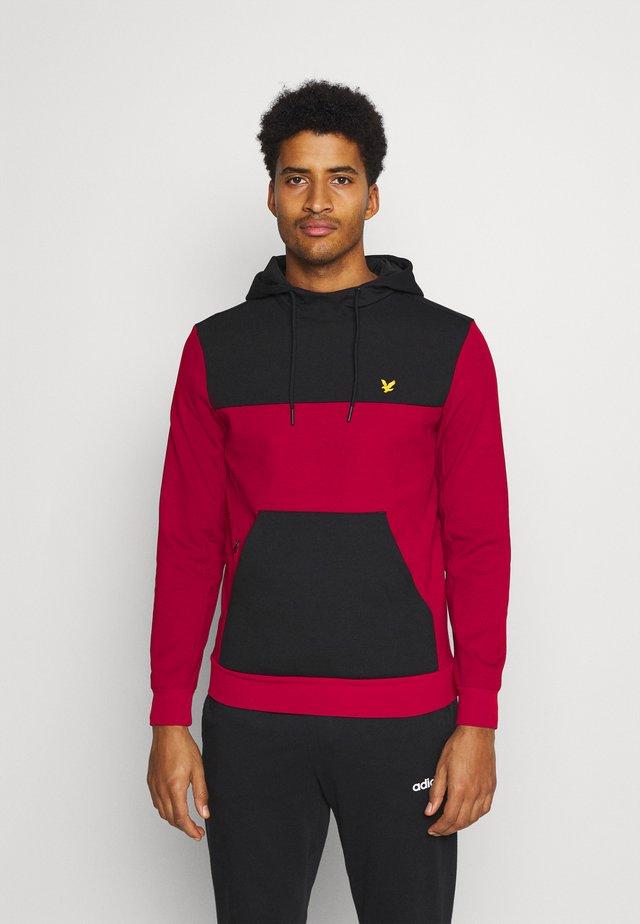 COLOUR BREAKER TECH  - Sweatshirt - ruby