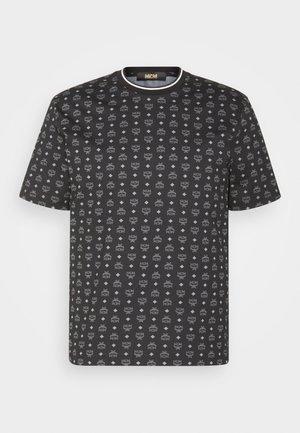 MENS VISETOS PRINT T-SHIRT - Print T-shirt - black
