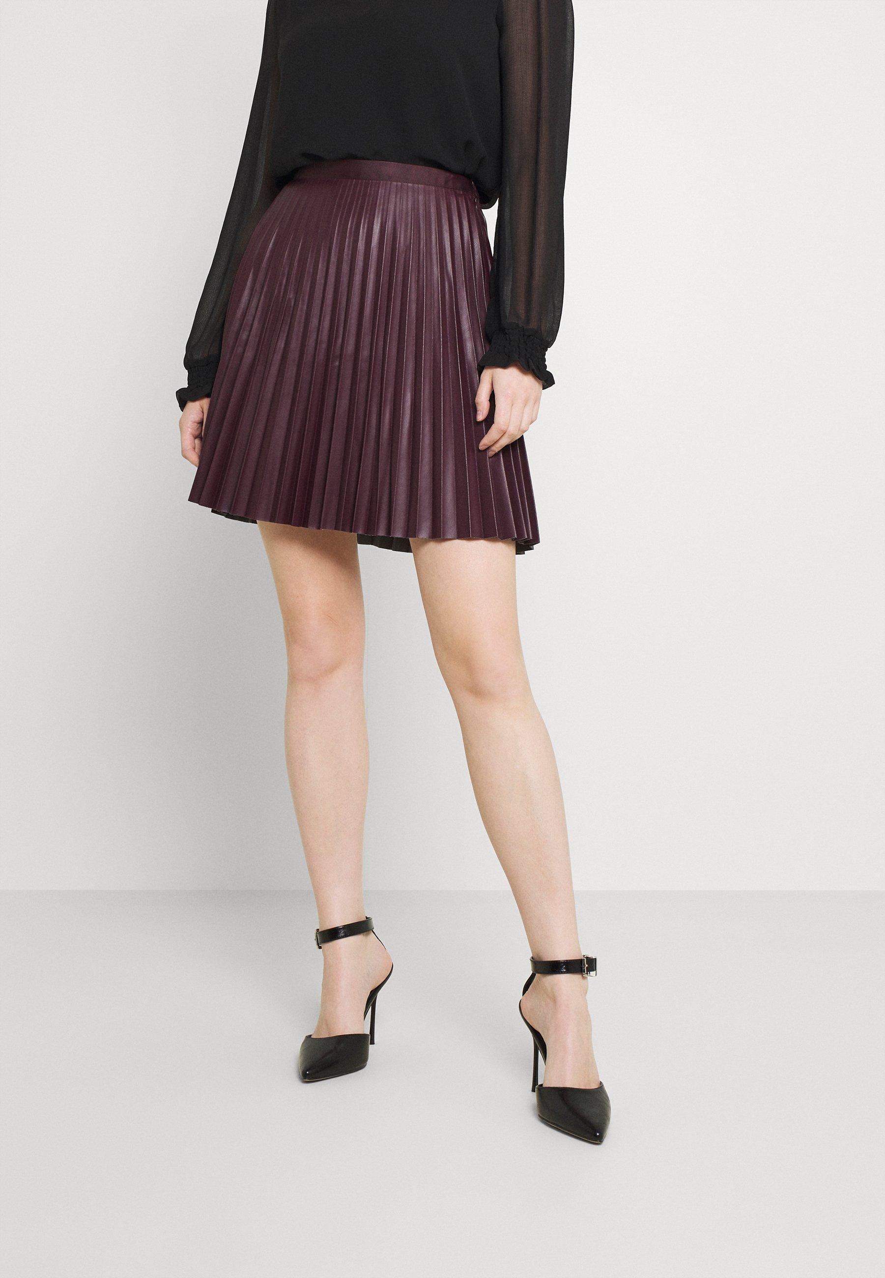 Women VIAMINA SHORT COATED SKIRT - Mini skirt