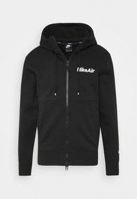 Nike Sportswear - Sweatjakke /Træningstrøjer - black/white - 0