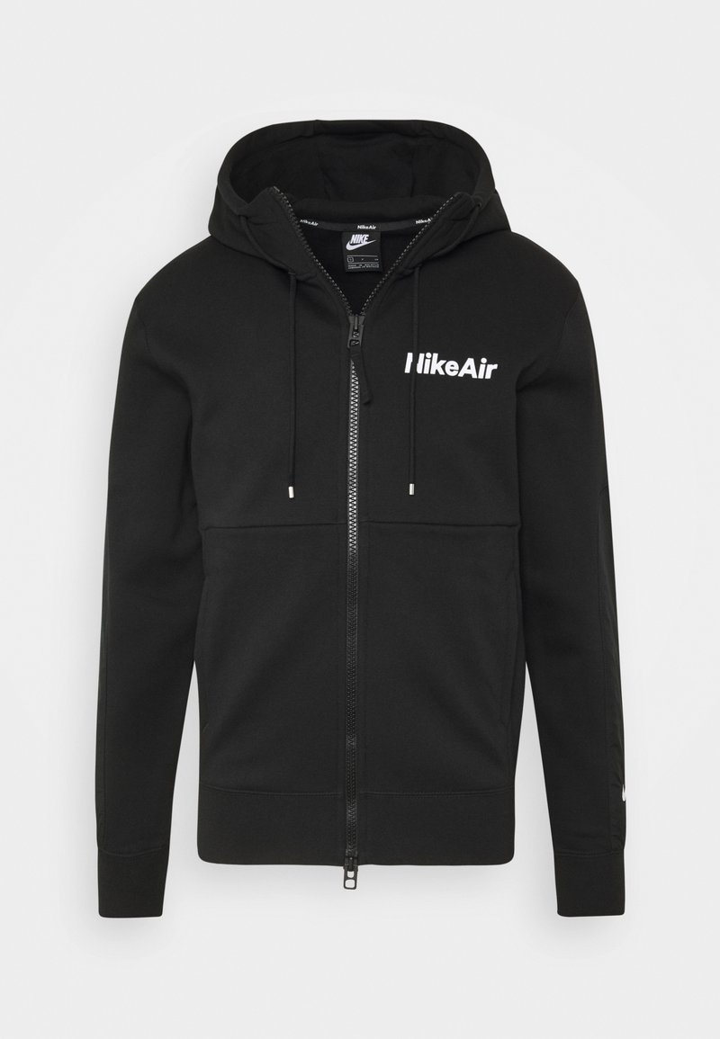 Nike Sportswear - Zip-up hoodie - black/white