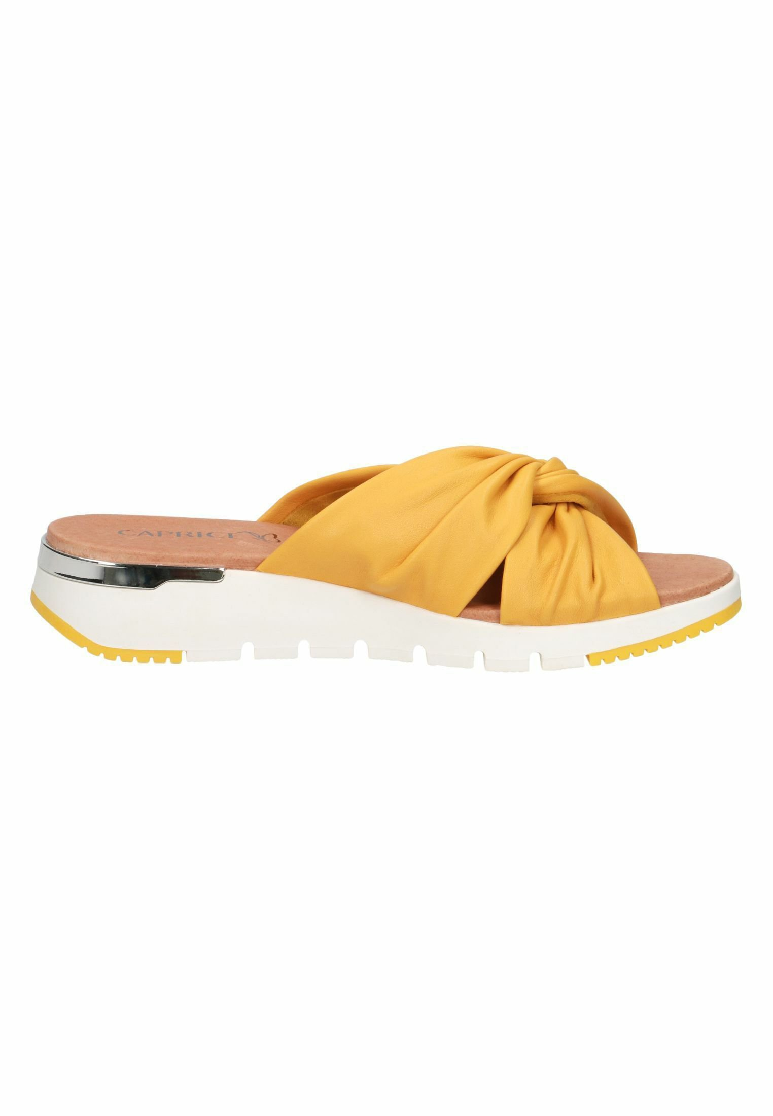 Caprice Pantolette flach sunflower soft/gelb