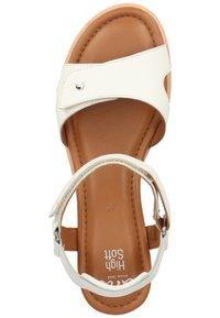 ara - Sandaletter med kilklack - weiss - 3