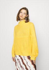 Monki - LIBBY - Jumper - yellow - 0