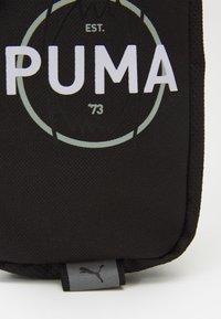 Puma - BASKETBALL NECK WALLET - Taška spříčným popruhem - puma black - 3
