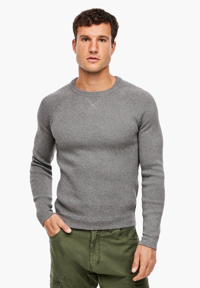 MIT RAGLANÄRMEL - Trui - light grey