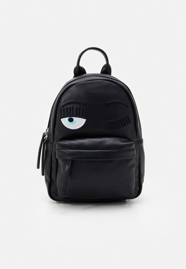SMALL FLIRTING BACKPACK - Rygsække - black