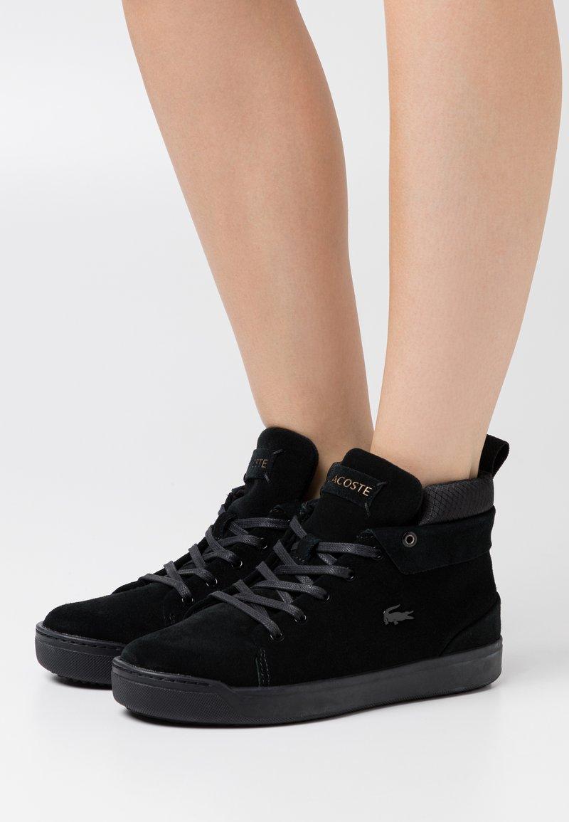 Lacoste - EXPLORATEUR  - Baskets montantes - black