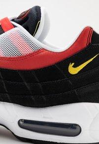 Nike Sportswear - AIR MAX - Trainers - white/chrome yello/black/crimson - 5