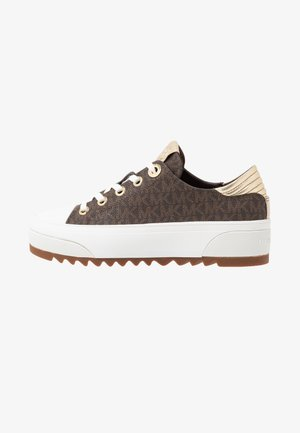 KEEGAN LACE UP - Trainers - brown