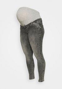 MLUTAH ORGANIC - Jeansy Skinny Fit - black