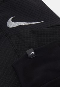 Nike Performance - WOMENS ESSENTIAL RUNNING HAT AND GLOVE SET - Gorro - black/silver - 3