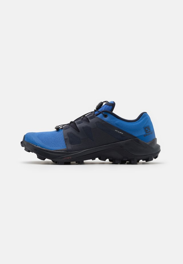 WILDCROSS - Trail running shoes - palace blue/night sky