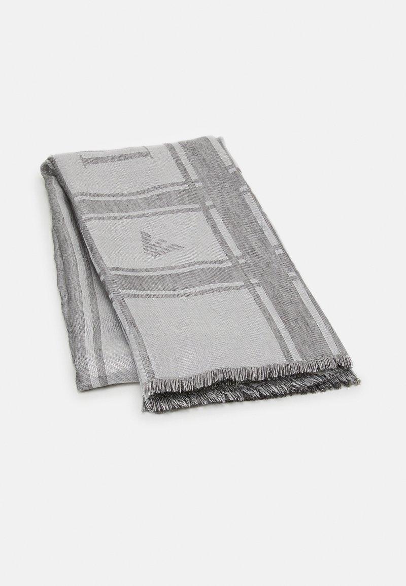Emporio Armani - FOULARD  - Šátek - grigio argento/silver grey