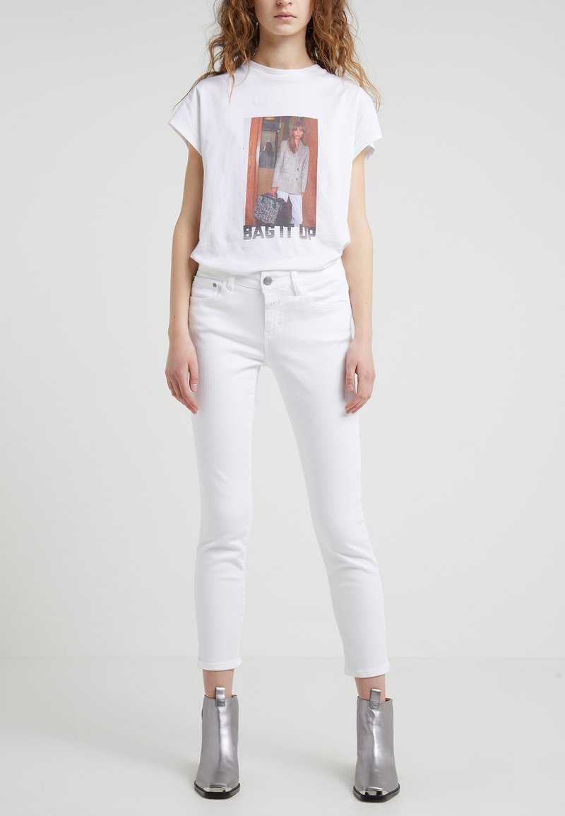 CLOSED - BAKER - Slim fit jeans - white