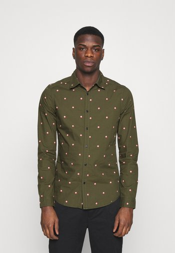 SLIM FIT WITH ALL OVER PRINT